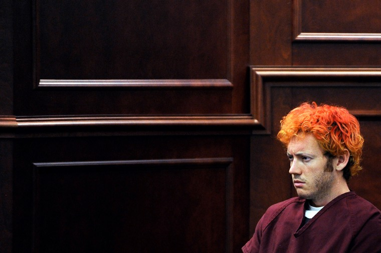 Image: First Court Hearing Held For Alleged Movie Theater Shooter