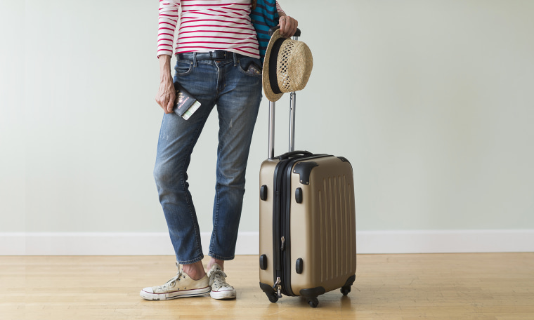 Image: Woman ready for vacation