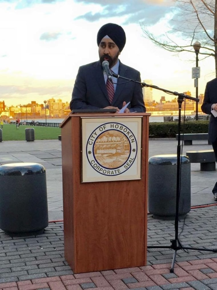 Ravi Bhalla is currently running for mayor of Hoboken, New Jersey.