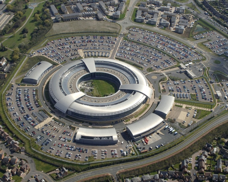 Image: Britain's electronic spy agency center, GCHQ.