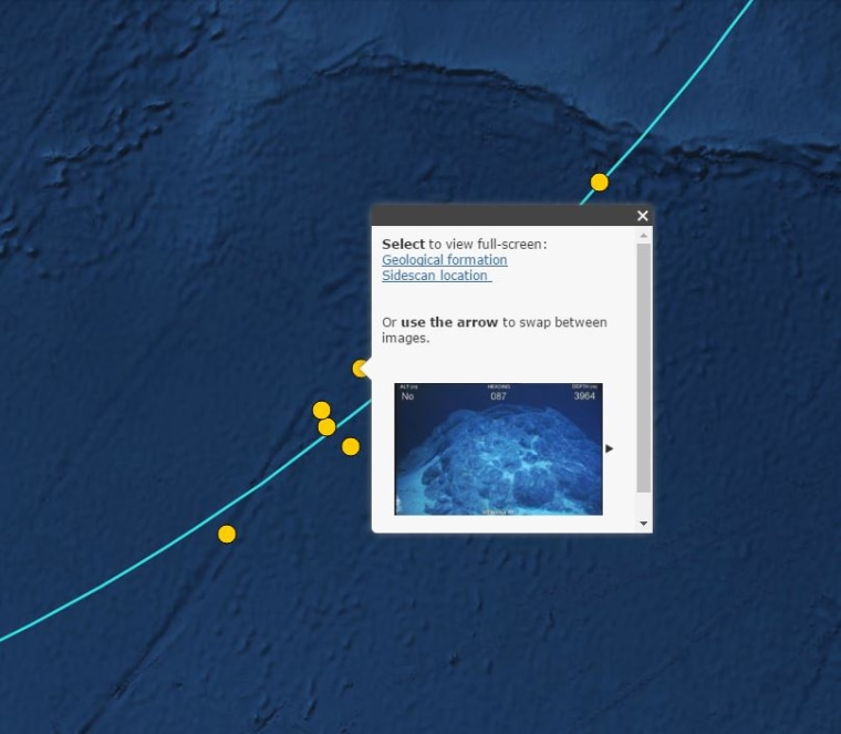 Image: Maps show where whale bones and shipwrecks were found during the search for MH370.