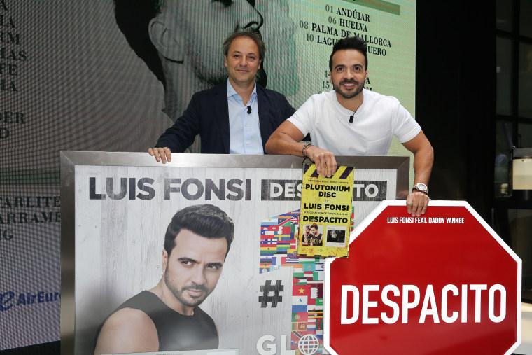 Luis Fonsi Presents His Tour 'Love + Dance World Tour'