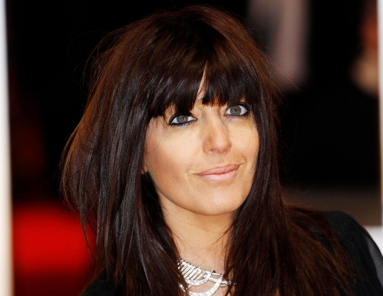 Image: Presenter Claudia Winkleman arrives for the BAFTA awards ceremony at the Royal Opera House in London