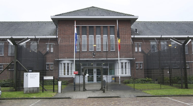 A view of the prison facility in Tilburg