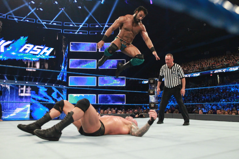 Jinder Mahal faces Randy Orton at WWE's Backlash pay-per-view.