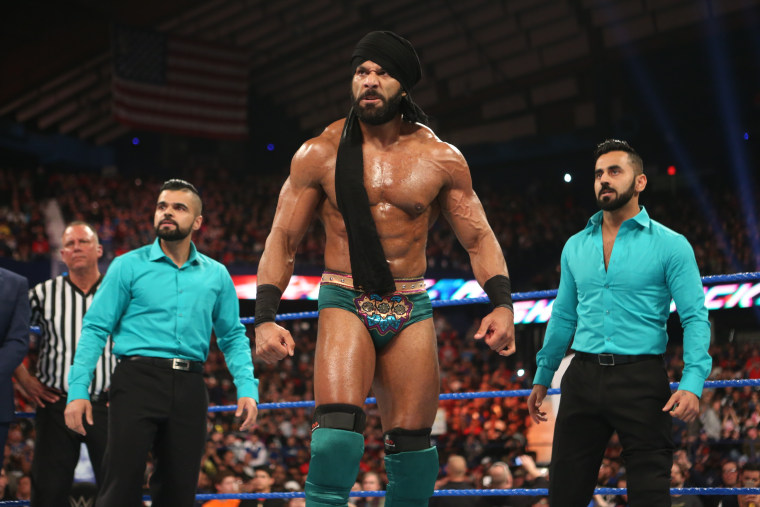 Jinder Mahal ahead of his match against Randy Orton at WWE's Backlash pay-per-view.