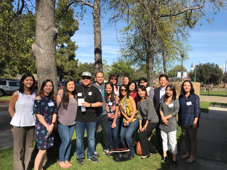 Asian Foster Family Initiative team members, foster parents, former foster youth, community partners and supporters at the March 2017 info session.