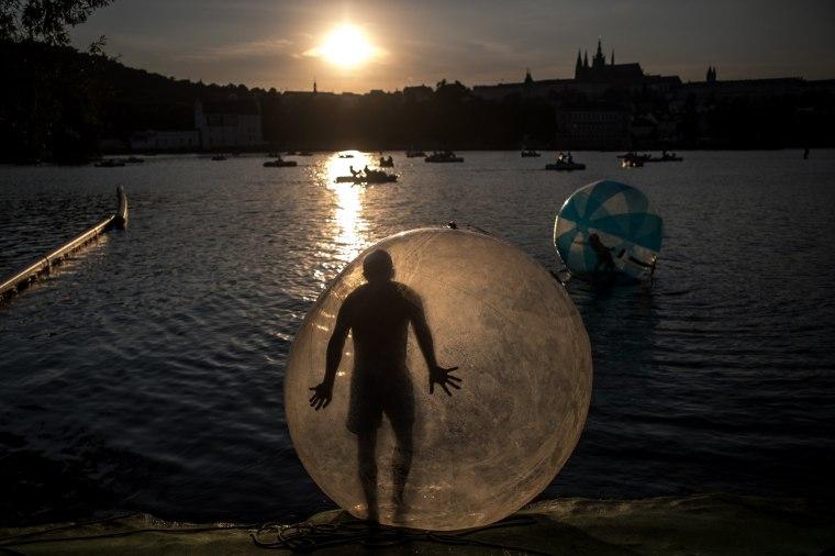 Image: Summer weather in Prague