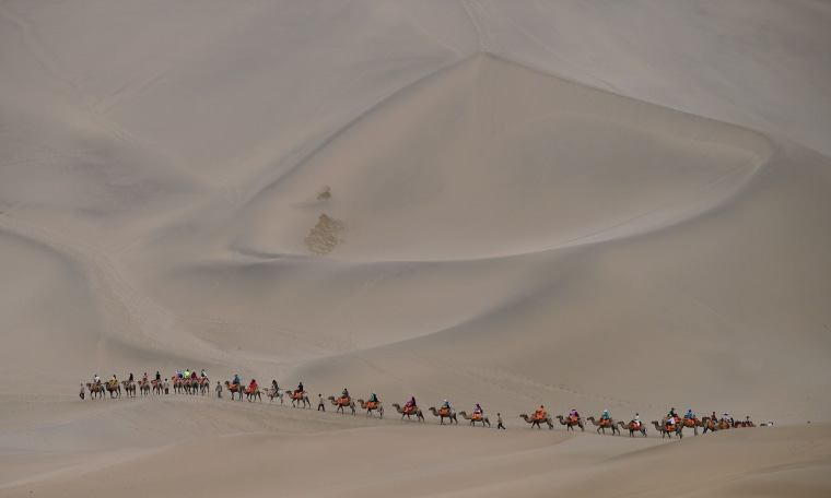 Image: TOPSHOT-AUTO-RALLY-SILKWAY-STAGE10