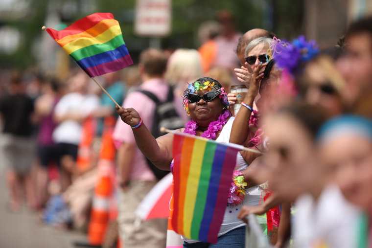 2015 Pride Parade in Minneapolis