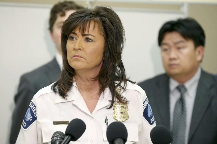 Image: Minneapolis Police Chief Janee Haertu