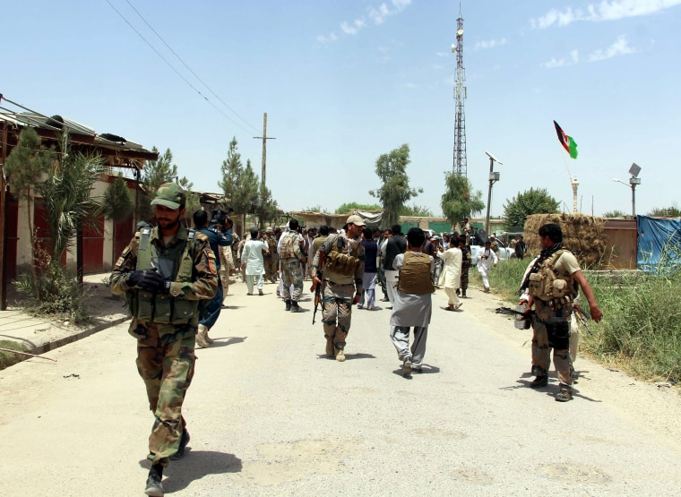 Image: Afghan forces take control of Nawa district from Taliban