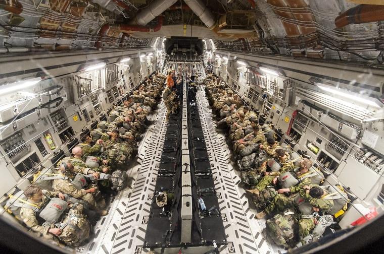 Image: Swift Response 2017 military exercise