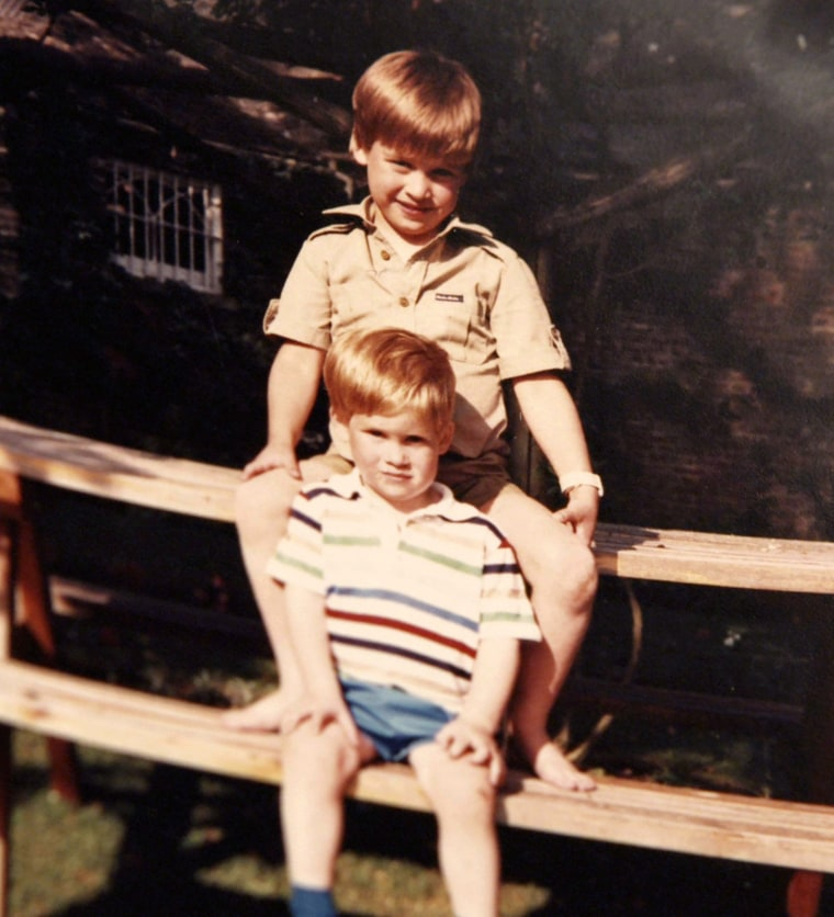 Image: Prince William and Prince Harry