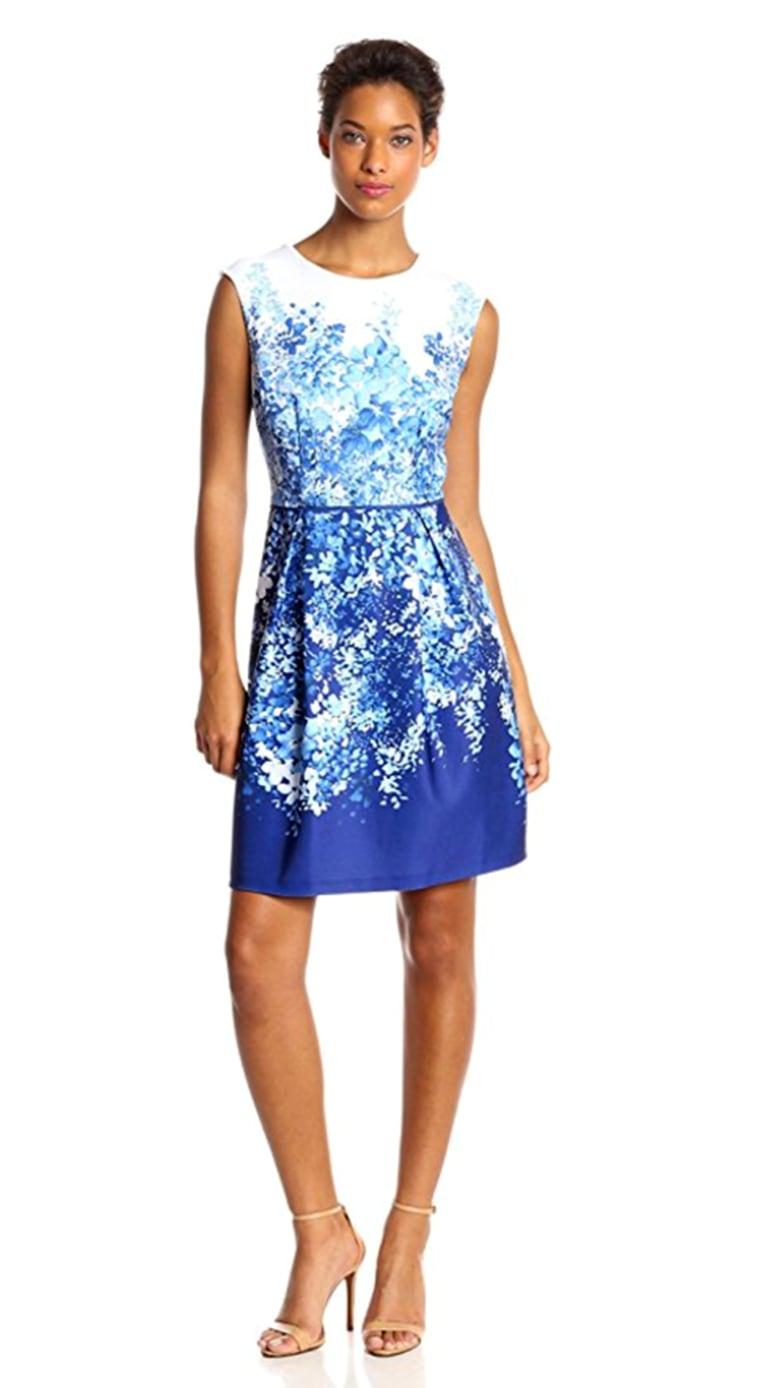 Sandra Darren Women's Floral-Print Dress