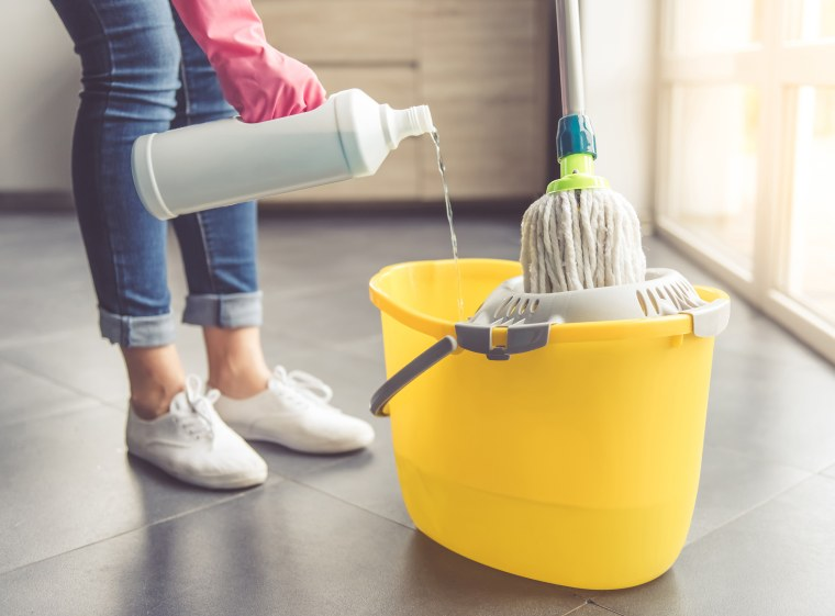 How often to mop your floors and the best mop to use