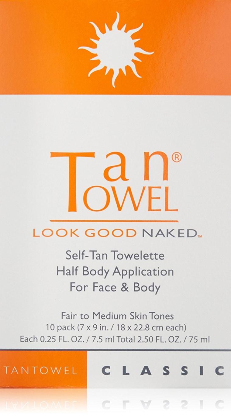 Tan Towels Sunless Tanner