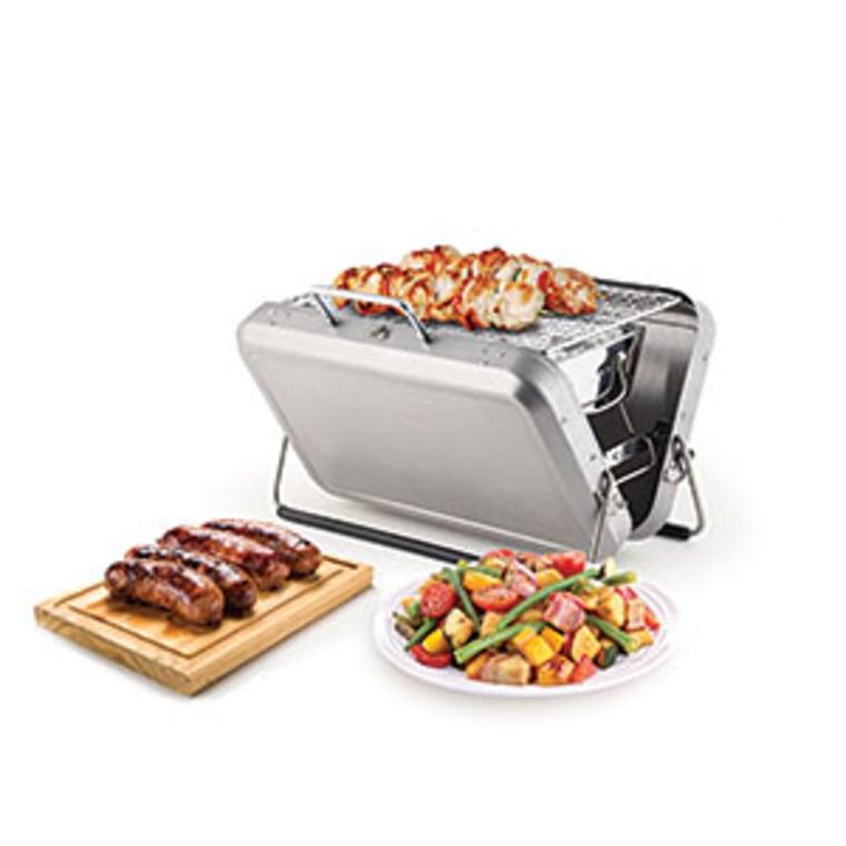 Portable BBQ Grill Briefcase