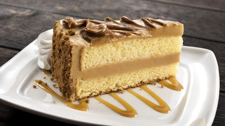 Olive Garden's new Cookie Butter cake