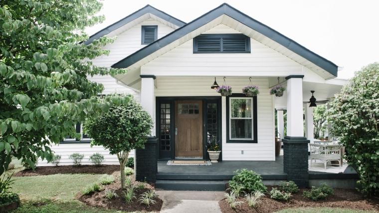 Exterior renovation curb appeal
