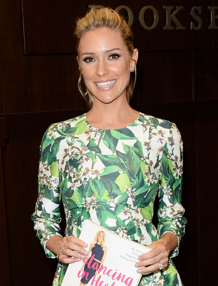 "Kristin Cavallari Book Signing ""Balancing In Heels: My Journey To Health, Happiness And Making It All Work"""