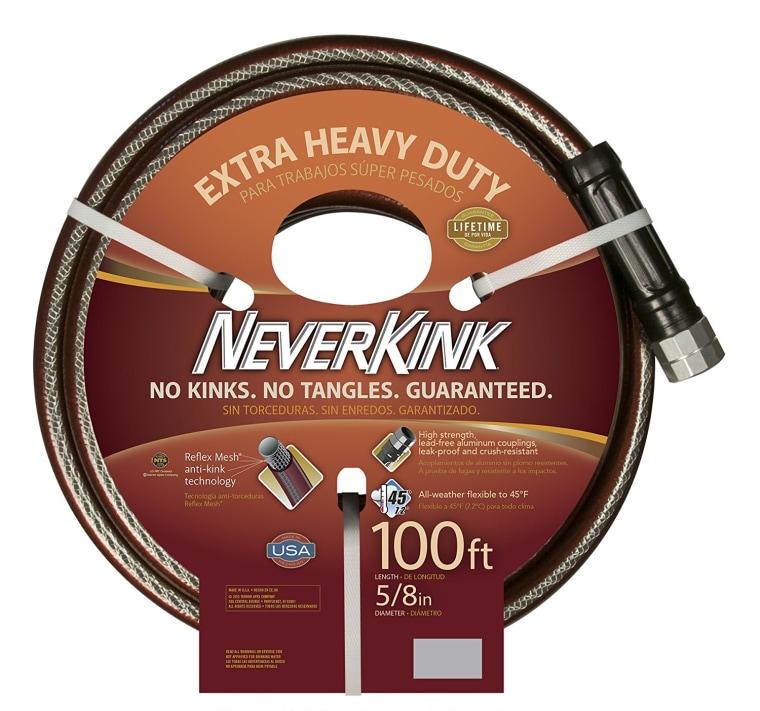 Garden essentials - NeverKink 100' water hose