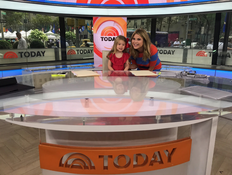Mila envisions herself as a future TODAY anchor.