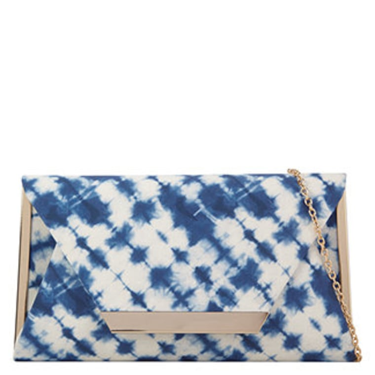 Timberlake Blue Clutch