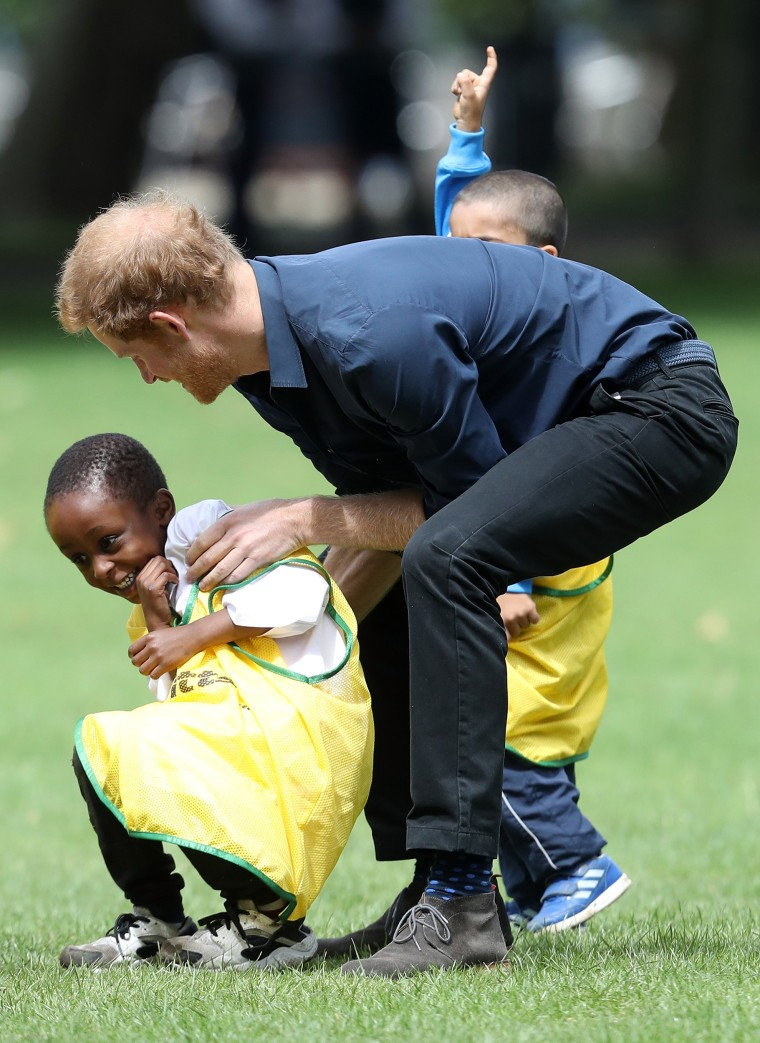 Image: Prince Harry Visits StreetGames' Fit And Fed