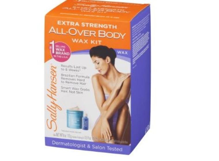 Sally Hansen All Over Body Wax Kit