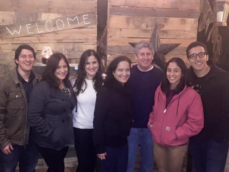 The Garza family.