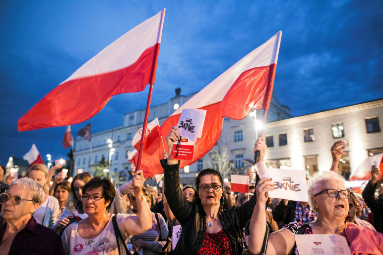 Image: Protests in Lublin, Poland.