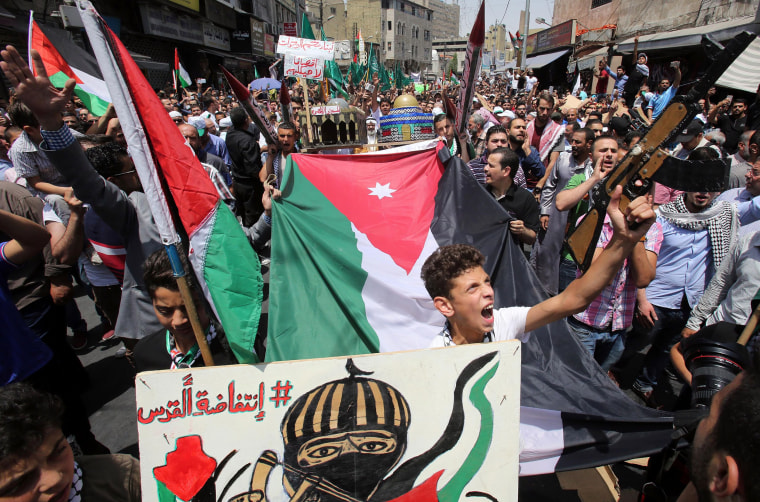Image: JORDAN-PALESTINIAN-ISRAEL-CONFLICT-JERUSALEM