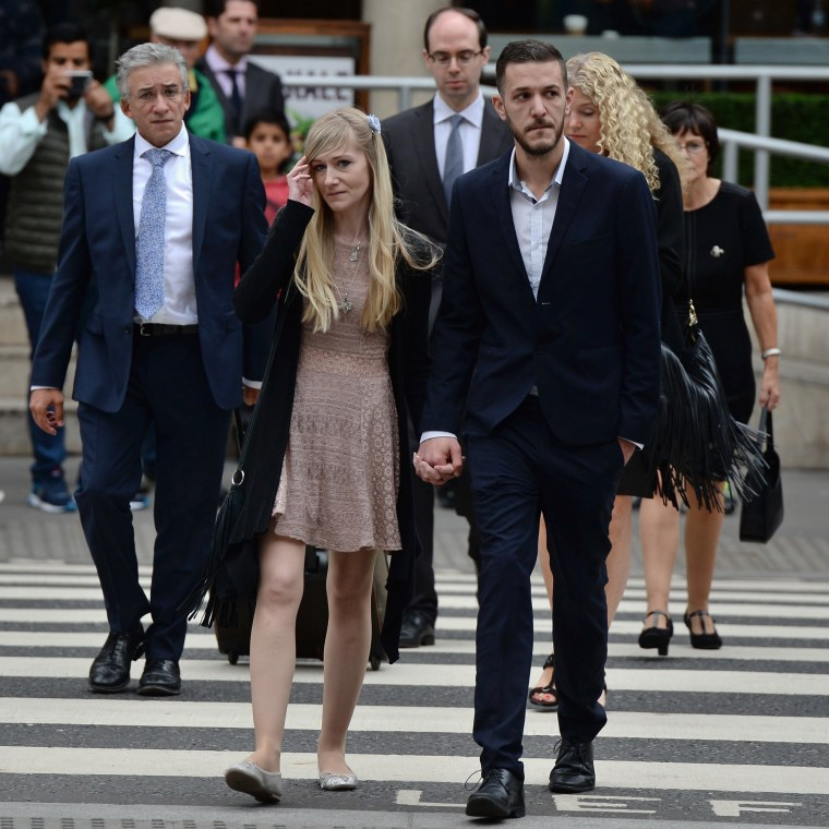 Image: Charlie Gard's parents