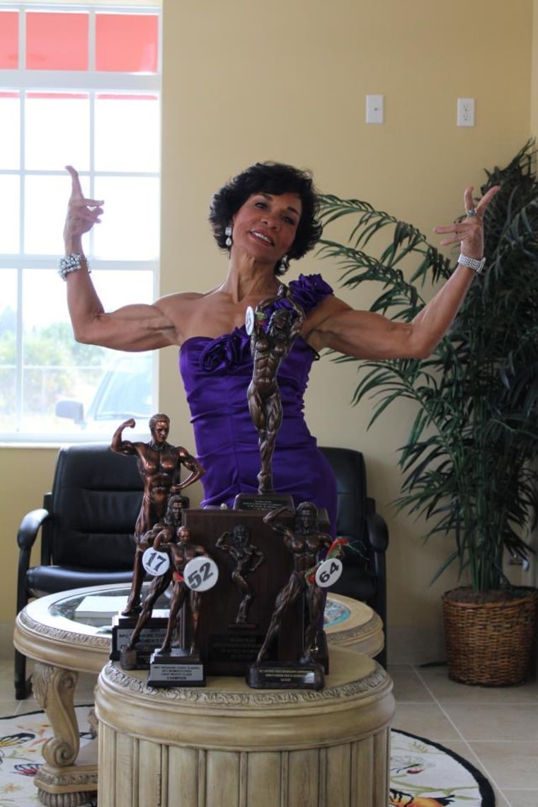 This Latina Bodybuilder Is 71: 'We Should Never Give Up on
