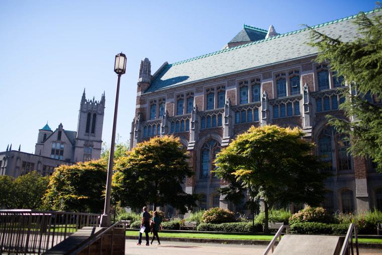University of Washington Campus Shots