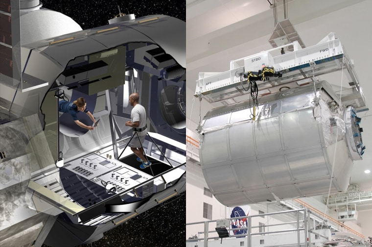 Lockheed Martin will repurpose a space shuttle-era Multi-Purpose Logistics Module (MPLM) to become a test and astronaut training prototype for NASA's deep space habitat.