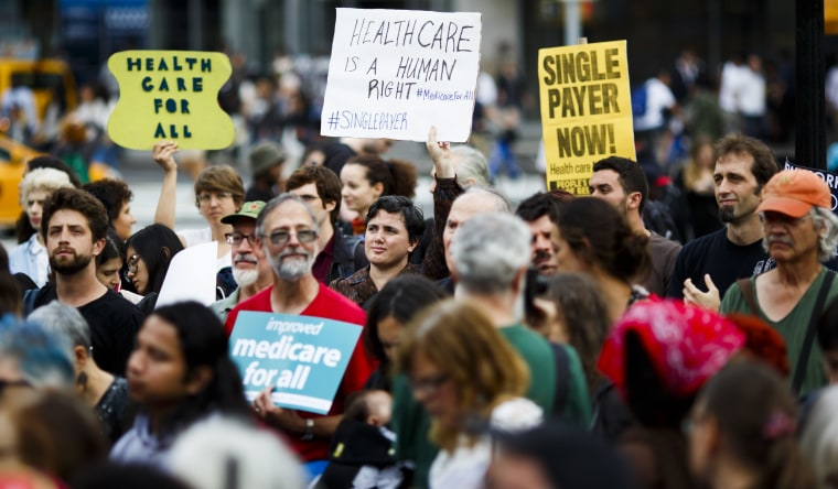 Image: Rally Against Effort of Repeal Affordable Care Act in New York