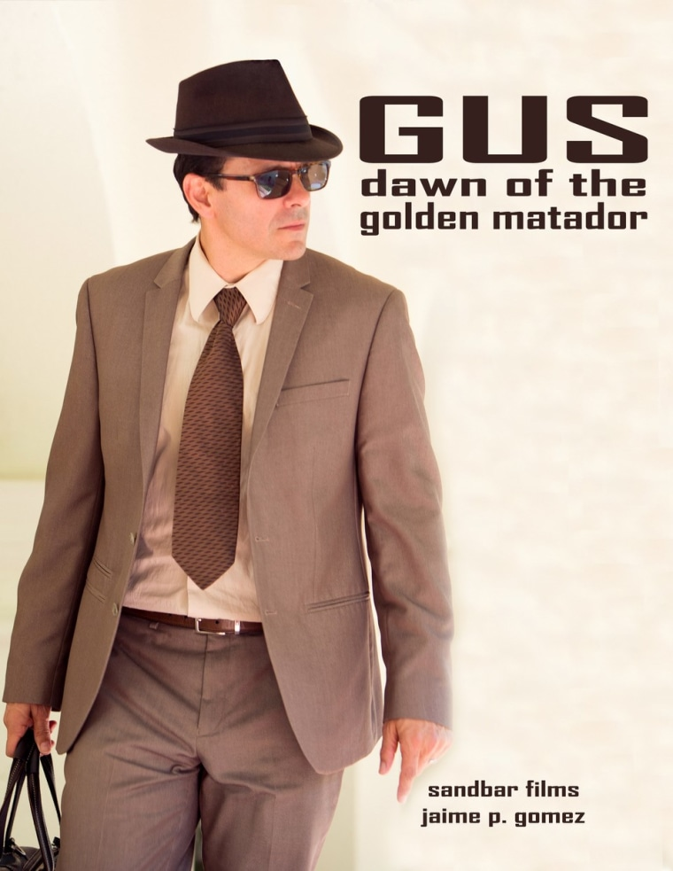 A poster for the upcoming film about Gus Garcia.