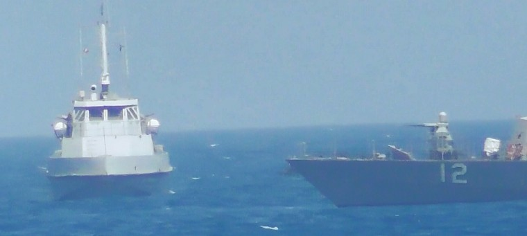 Image: US Military Interactions with Iran in the Gulf