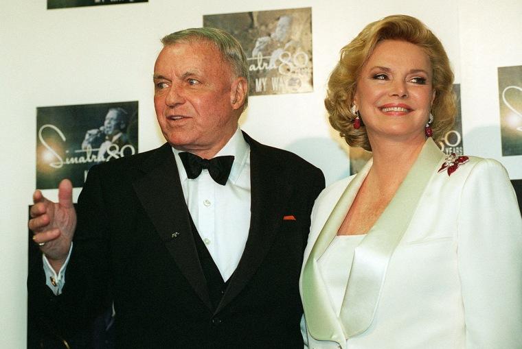 Image: Frank and Barbara Sinatra