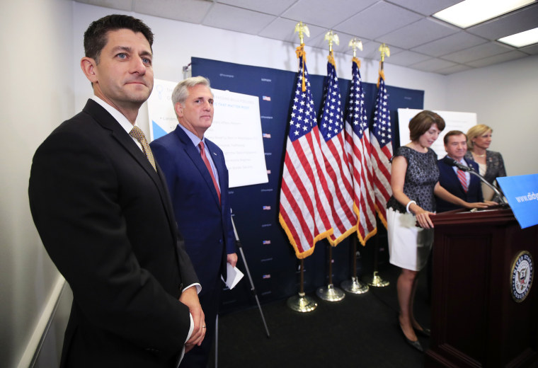 Image: Paul Ryan, Kevin McCarthy of Calif., Cathy McMorris Rodgers, Claudia Tenney, Ed Royce