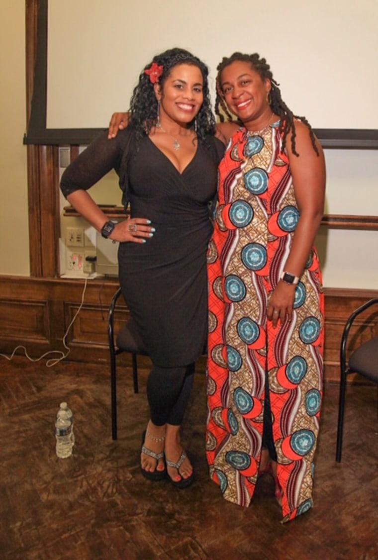 Image: Sunyatta Amen and Janvieve Williams Comrie