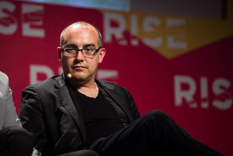 Image: Dave McClure, chief executive officer and founder of 500 Startups