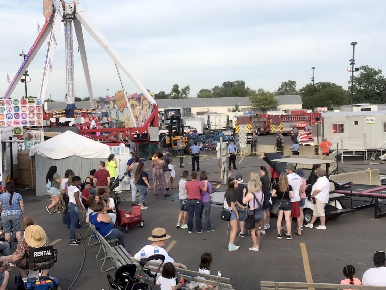 Image: Ohio State Fair Accident