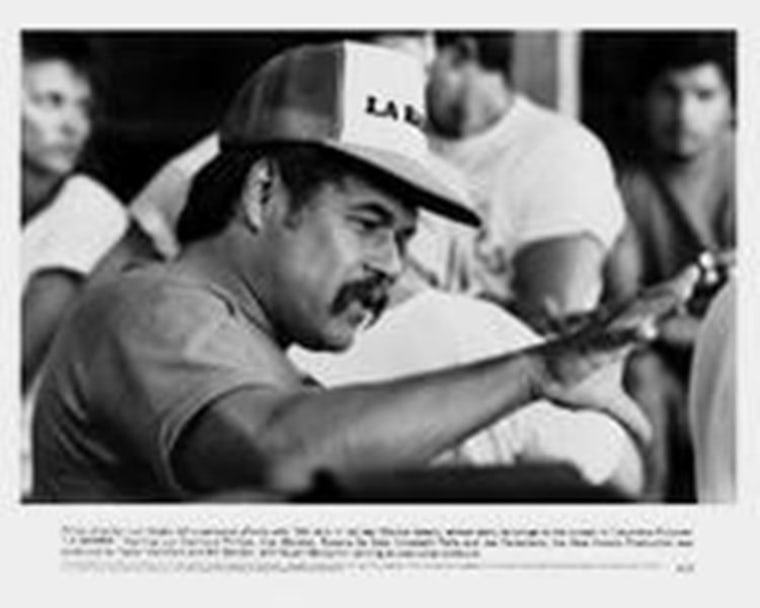 Screenplay writer and director Luis Valdez.
