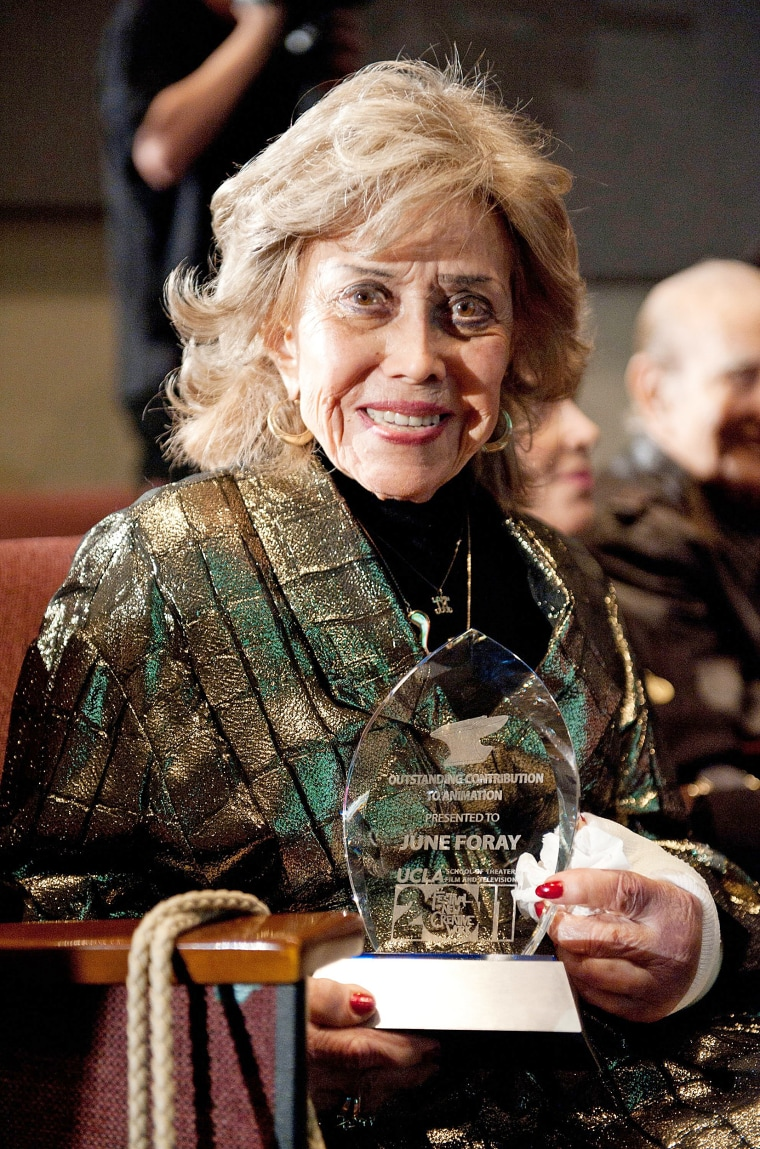 Image: Voice Actress June Foray Dies At 99