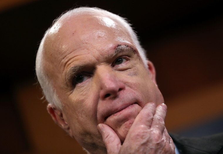 Image: Senators McCain, Graham, Cassidy and Johnson Discuss Health Care Reform