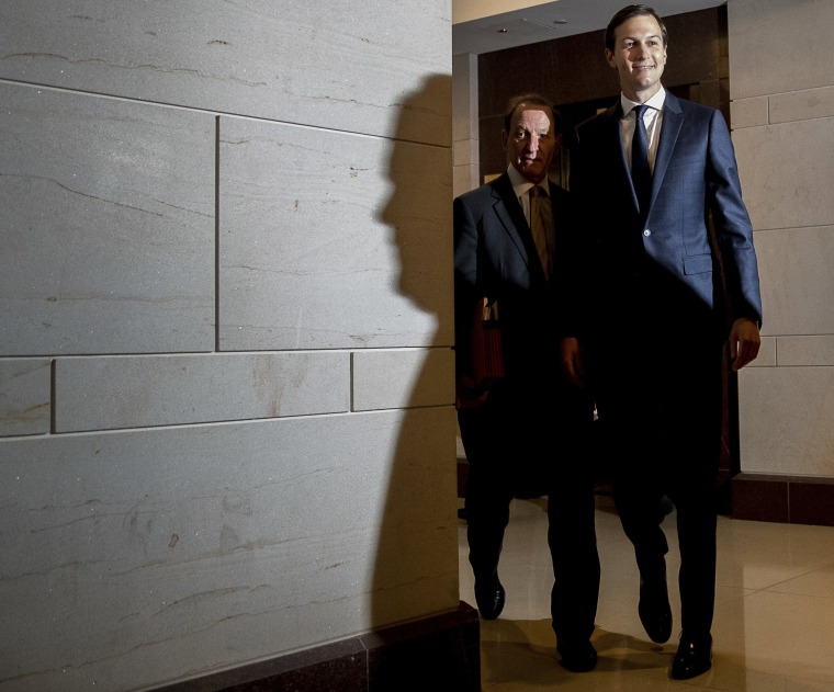 Image: Jared Kushner and Abbe Lowell arrive at Capitol Hill