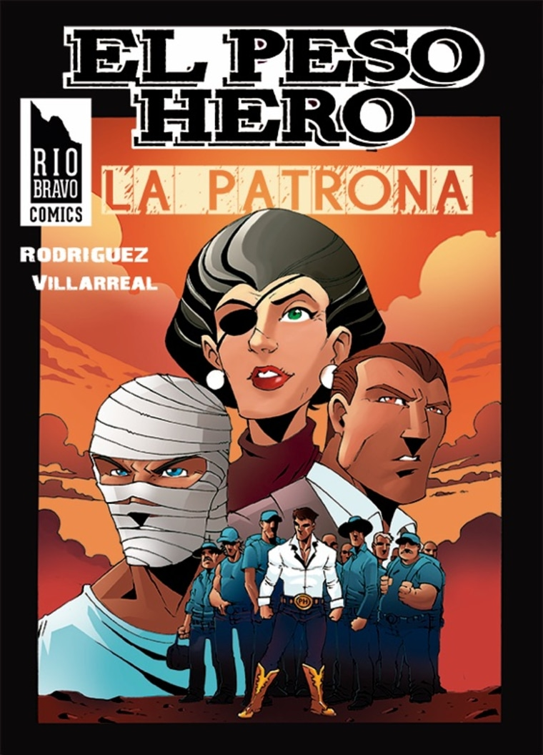 An upcoming edition of El Peso Hero includes a closer look at character La Patrona, who comic creator Hector Rodriguez III said was inspired by a telenovela.